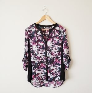 Kut from the Kloth Floral Watercolor Top